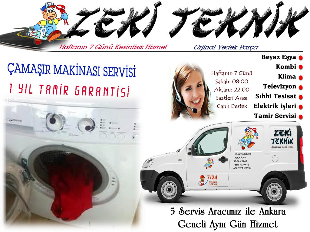 Ankara çamaşır makinası tamircisi -servisi