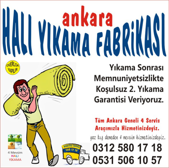 Ankara Halı Yıkama Fabrikası