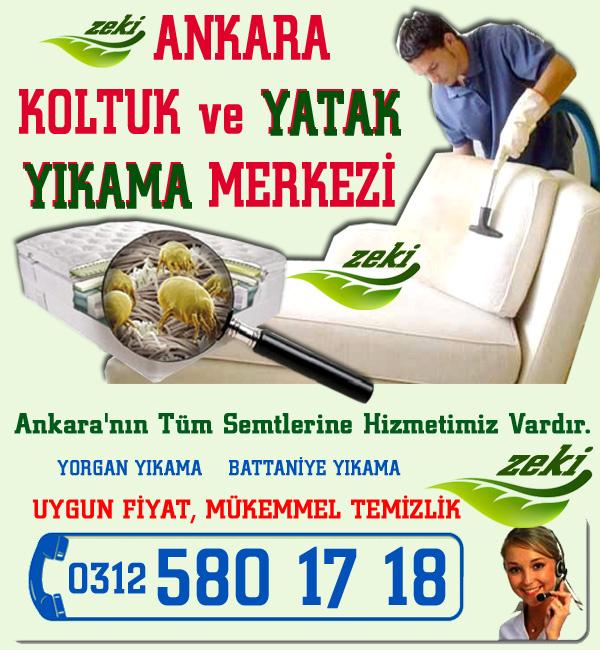 Ankara Koltuk Yıkama Fiyatları