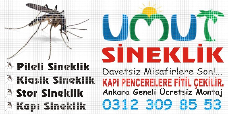 Ankara Sineklik ve Panjur İmalatı