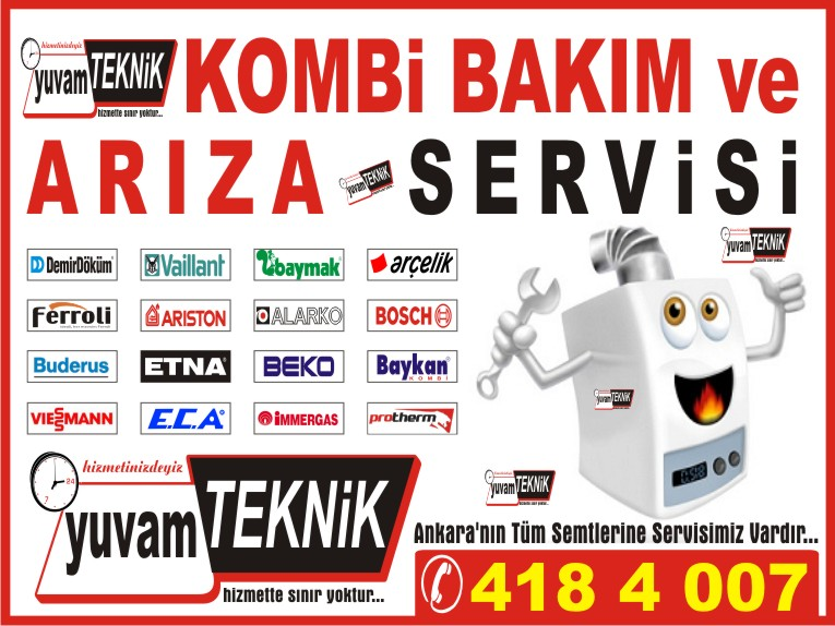 Ariston-Ferroli ve İmmergas Kombi Servisi