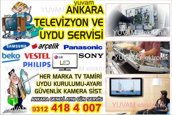 Keçiören Televizyon Tamir Servisi