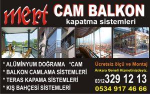 Cam Balkon Tamiri Ankara Çayyolu